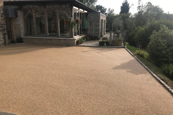 Resin Driveways Project - Liskeard