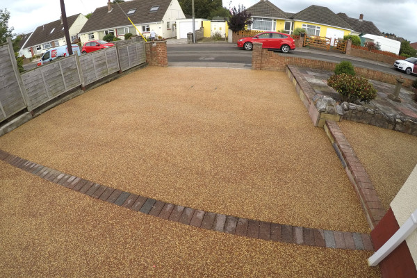 Resin Driveway Project - Kingsteignton