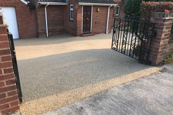 Resin Driveway Project - Exmouth