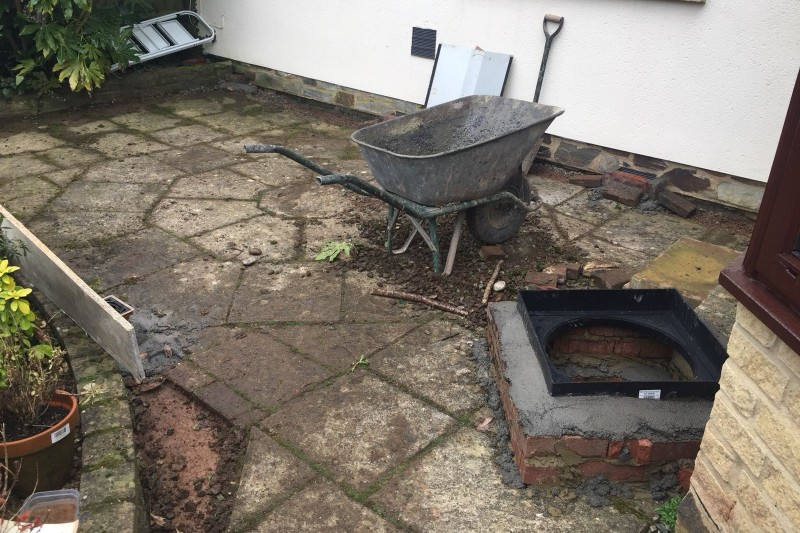 Resin Path Transformation  (Full Area) in Newton Abbot