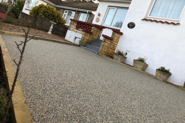 Resin Driveways Project - Dawlish