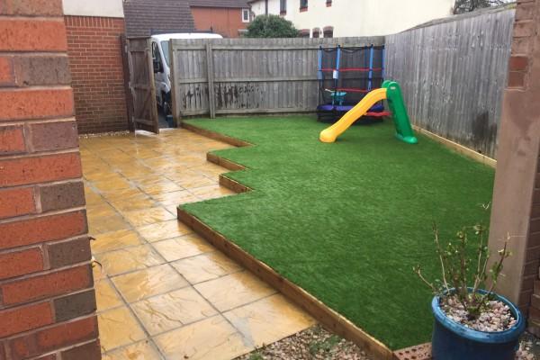 Artificial Grass Project - Newton Abbot