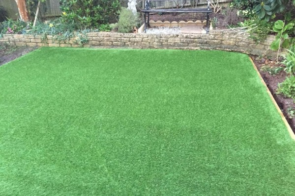Artificial Grass Project -  Teignmouth