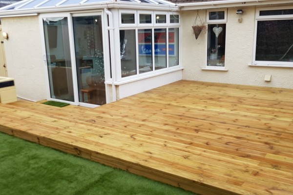 Decking Project - Exeter