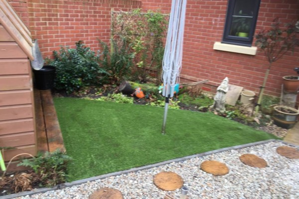 Artificial Grass Project - Dawlish