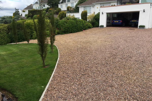 Gravel Driveways Project - Teignmouth