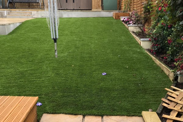 Artificial Grass Project - Newton Abbot