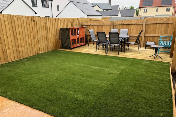 Artificial Grass Project - Cullompton