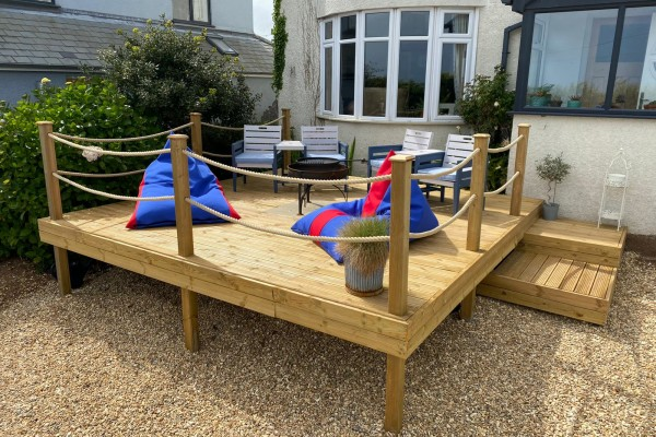 Decking Project - Dartmouth
