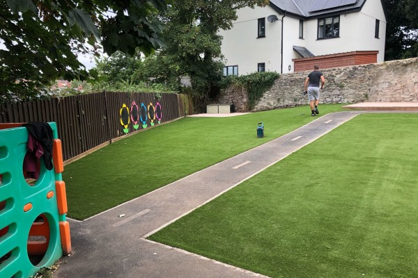 Artificial Grass Project - Ilfracombe
