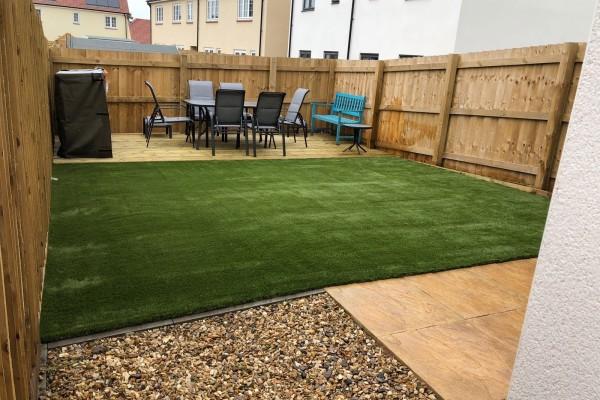 Artificial Grass Project - Cullompton