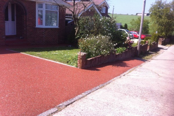 Resin Driveway Project - Broadclyst