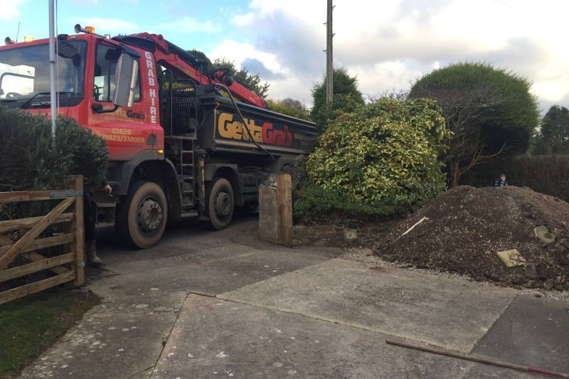 Front Driveway transformation  in Newton Abbot