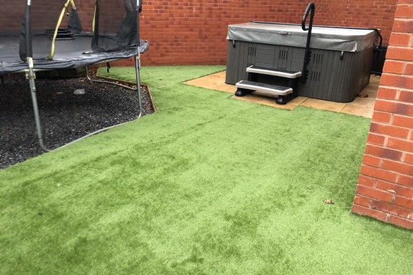 Artificial Grass Project - Dawlish