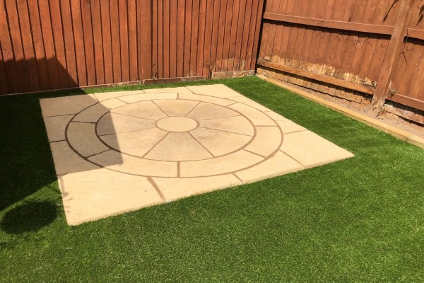 Artificial Grass and Landscaping Project - Barnstable